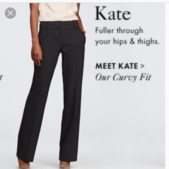 a90b5752378 NWT LOFT Classic Kate wide leg trousers 14